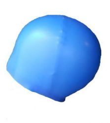 Blue Swim Hat compressed